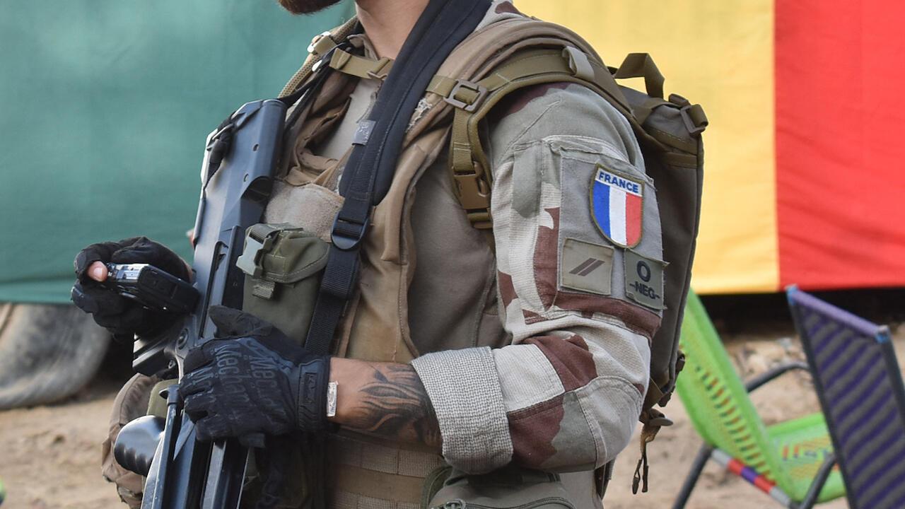 France Barkhane Sahel Mali 000_9MT84P