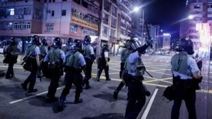 احتجاجات هونغ كونغ. 14 أغسطس/آب 2019.
