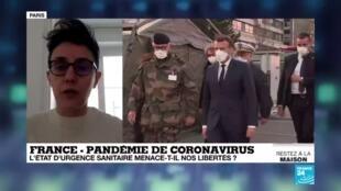 2020-03-26 11:02 Coronavirus en France : L'État d'urgence sanitaire menace-t-il nos libertés ?