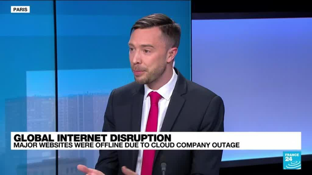 2021-06-08 14:01 Major websites were offline due to cloud company outage