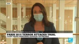 2020-09-21 13:02 Paris 2015 terror attacks trial: Court hears harrowing survivor testimonies