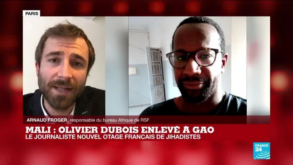 """2021-05-05 14:03 Enlèvement d'O. Dubois au Mali : """"Cela atteste des grands dangers auxquels sont encore exposés les journalistes"""""""