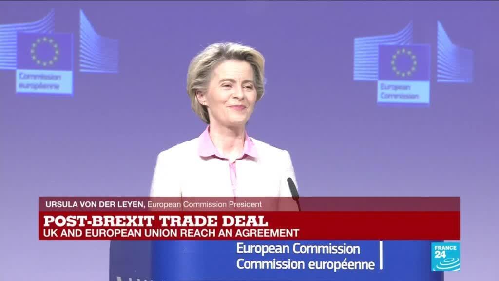 "2020-12-24 16:00 REPLAY: Brexit deal ""fair, balanced and right"", EU's von der Leyen says"
