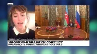 2020-10-09 22:03 Nagorno-Karabakh conflict: Moscow hosts Armenia-Azerbaijan truce talks