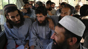 The insurgents' release would complete the Afghan government's pledge to free 5,000 Taliban militants. This photo shows a release in May