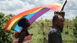 Des réfugiés ougandais et soudanais du sud au Kenya.