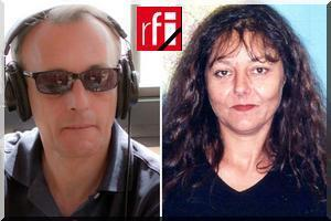 Ghislaine Dupont (right) and Claude Verlon were captured and killed in Kidal, Mali, in November 2013.