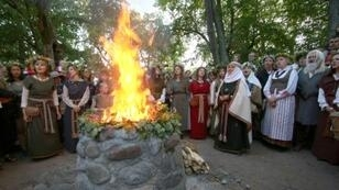 The neo-pagans of Latvia and Lithuania want the same rights according to mainstream religions