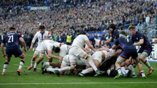 Le XV de France a dominé l'Écosse, samedi 23 février, au stade de France.