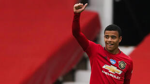 Teenage kicks: Manchester United's Mason Greenwood reaped praise from manager Ole Gunnar Solskjaer after scoring twice against Bournemouth