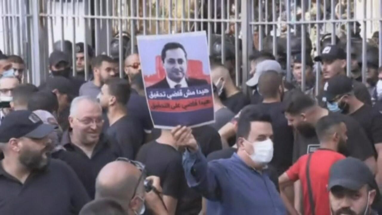Middle East matters - Beirut port explosion: Investigation sparks violent demonstrations
