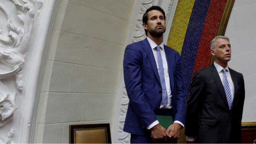 Craib Kowalik, encargado de negocios de Canadá en Venezuela.