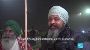 2021-01-29 15:11 New clashes heighten tensions at India farmer protests