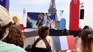 Fan zone paris