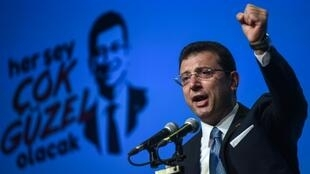 Ekrem Imamoglu's campaigning style is to stress the positive