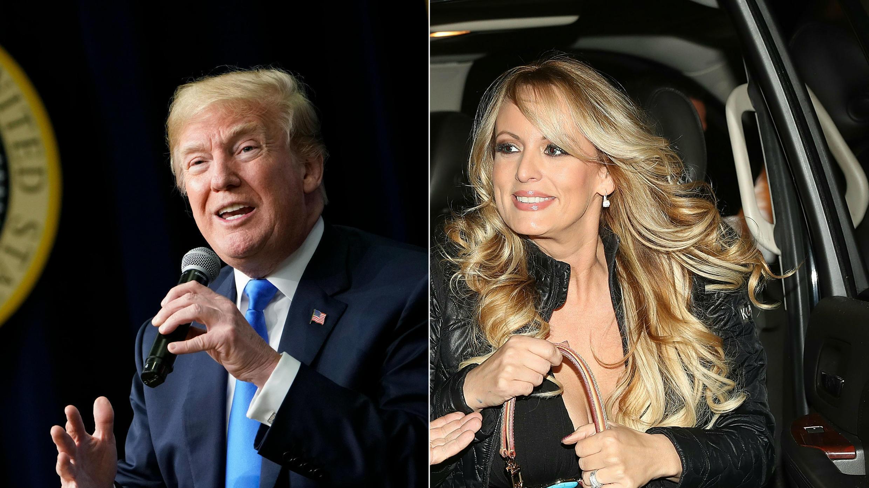 Donald Trump niega haber tenido relaciones sexuales con la actriz porno Stormy Daniels en 2006, al poco tiempo de haberse unido en matrimonio con su actual esposa, Melania Trump