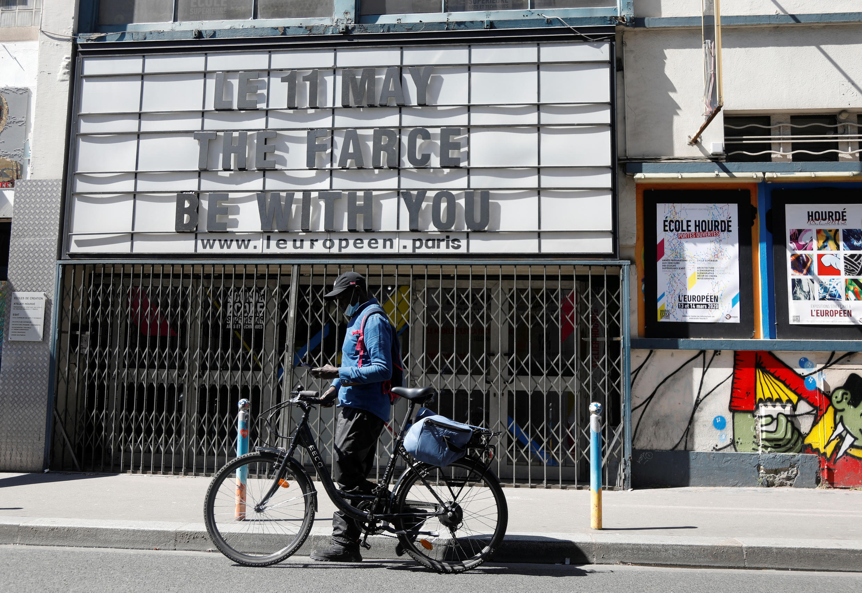 Covid Paris Theatre Deconfinement