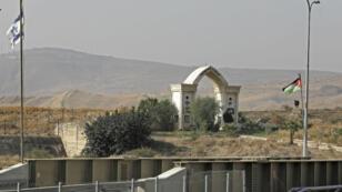 La localité de Baqura, vue depuis Israël, en octobre 2018.