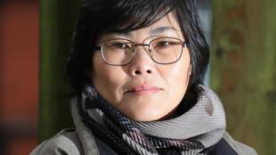 جيهيون بارك، المولودة في كوريا الشمالية واللاجئة في بريطانيا والمرشحة في الانتخابات البلدية في 6 شباط/فبراير 2021