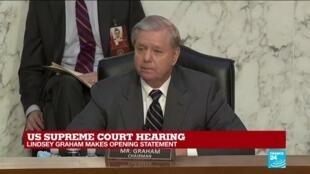 2020-10-12 15:03 REPLAY - US Supreme Court hearing: Republican Senator Graham makes opening statement