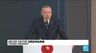 "2020-03-02 14:01 Recep Tayyip Erdogan: ""I will go to Moscow on Thursday"""