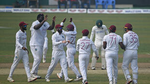 Rahkeem Cornwall struck twice in the morning as the West Indies left Bangladesh battling to avoid a follow-on