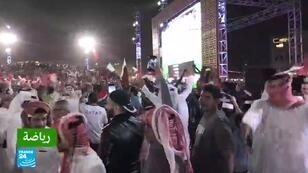 احتفالات كبيرة في قطر بالفوز على المنتخب الإماراتي في مباراة نصف نهائي كأس آسيا