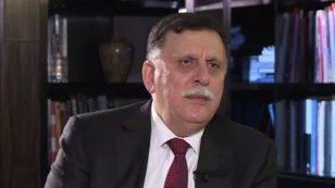 Fayez al-Sarraj a accordé une interview exclusive à France 24, mardi 25 juillet 2017.