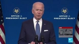 2021-01-20 19:00 Joe Biden sworn in as US President with pressing list of urgent affairs