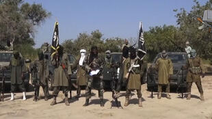 Screengrab from a video obtained by AFP on October 31, showing Boko Haram leader Abubakar Shekau