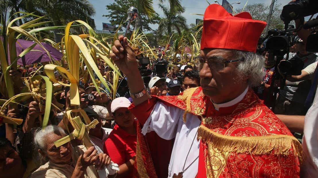 Imagen de archivo del cardenal nicaragüense Leopoldo Brenes.