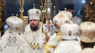 Metropolitan Yepifaniy is the leader of the newly established independent Ukrainian Orthodox Church