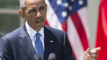 """Barack Obama a évoqué mardi 28 avril une """"fracture latente"""" entre la police et les jeunes Afro-américains."""