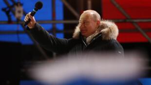 El presidente ruso se proclamó ante sus seguidores y afirma que espera respaldar al Reino Unido en la investigación por el caso Skripal