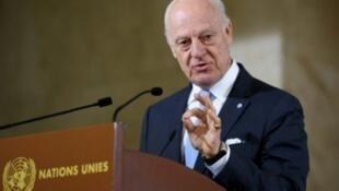 الموفد الدولي الخاص إلى سوريا ستافان دي ميستورا