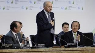 Un projet d'accord final sur le climat a été soumis aux négociateurs de la COP21.