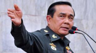 Le chef des forces armées thaïlandaises, Prayuth Chan-ocha