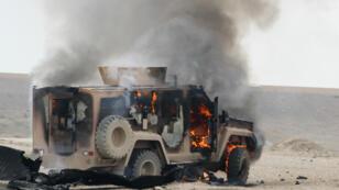 L'EI a revendiqué un attentat perpétré près de Chadadi, le 21 janvier, dans le nord-est de la Syrie.