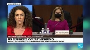 2020-10-12 17:01 US Supreme Court hearing: Amy Coney Barrett's confirmation hearing underway