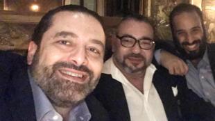 Photo postée le 9 avril par Saad Hariri sur son compte Twitter.