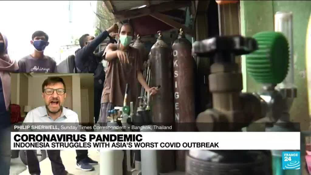 2021-07-06 13:09 Indonesia struggles with Asia's worst Covid outbreak