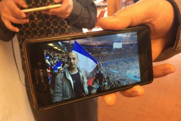 Mohammed Naeem au Stade de France, au mois d'octobre, lors d'un match pour les éliminatoires de la Coupe du Monde.