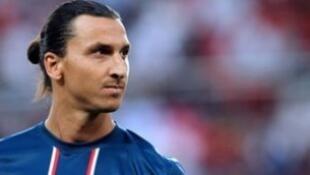 Zlatan Ibrahimovic, l'atout offensif numéro un du PSG.