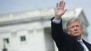Le président américain Donald Trump à Washington, le 15 mars 2018.