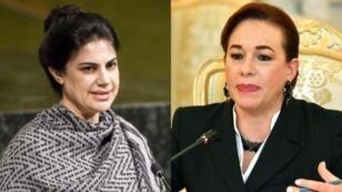 La hondureña Mary Elizabeth Flores y la ecuatoriana María Fernanda Espinosa compiten para presidir la Asamblea General de la ONU.