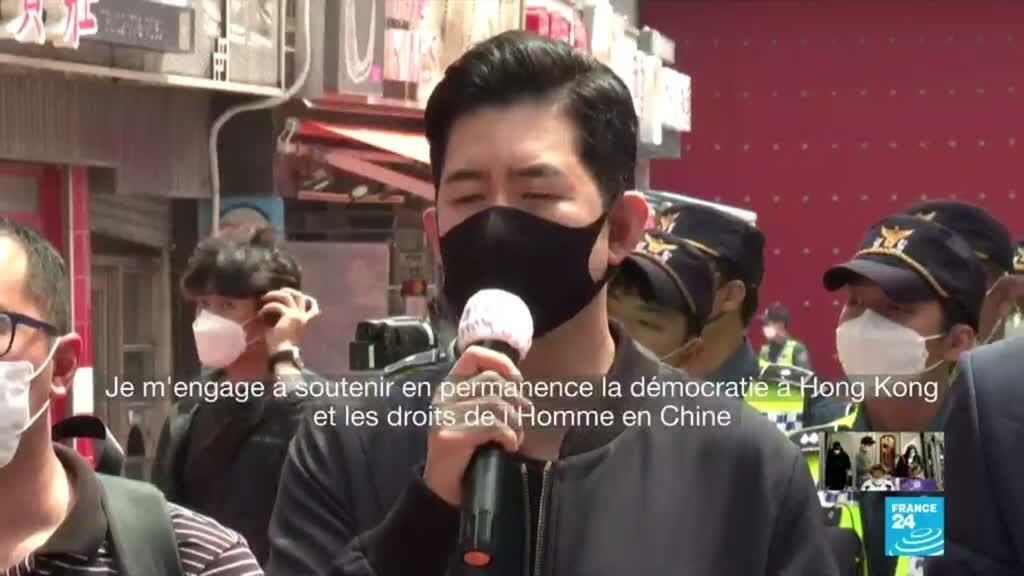 2020-06-04 17:04 Tiananmen : à Taïwan et en Corée du Sud, des cérémonies de commémoration en soutien aux Hongkongais
