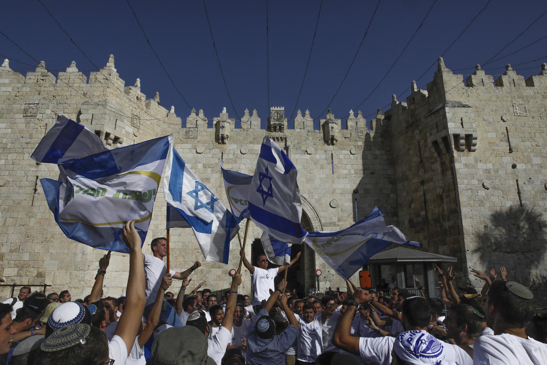 Israel nationalist march