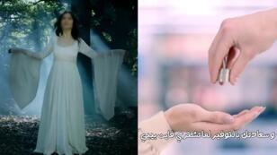 إعلانات تجارية توظف المرأة للترويج لمنتجات مختلفة