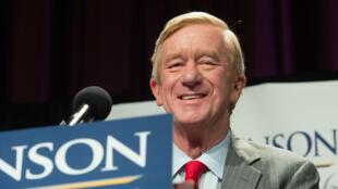 William Weld, entonces candidato a la vicepresidencia, habla en un mitin en Nueva York, EE. UU., el 10 de septiembre de 2016.