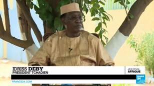 Le président Idriss Déby Itno s'est exprimé devant la presse à l'occasion de la célébration du 55e anniversaire de l'indépendance du Tchad.